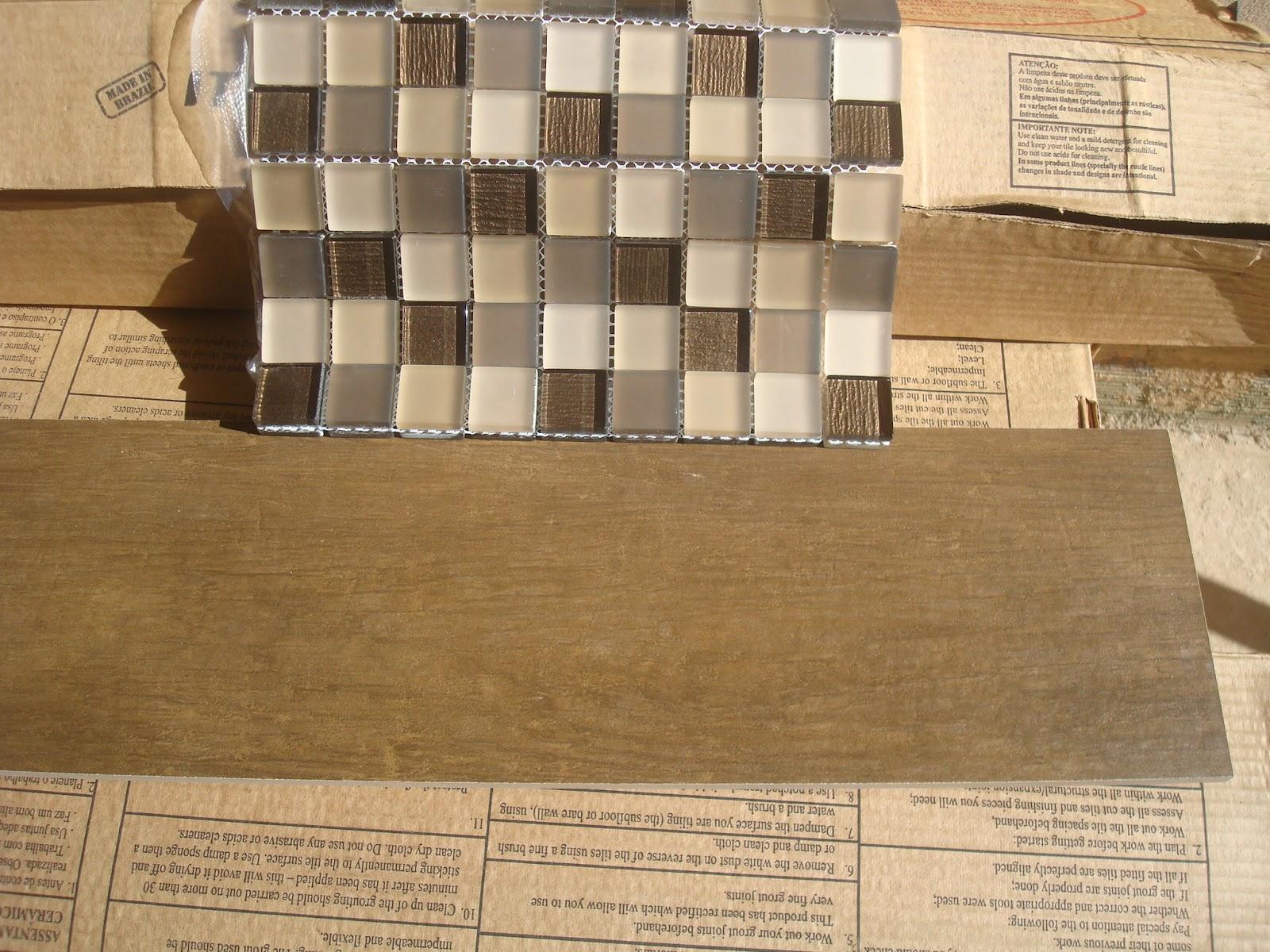 Construindo um Castelinho Revestimentos na obra! -> Banheiros Com Pastilhas Porto Design