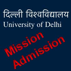 DU Admission Online Registration Delhi University