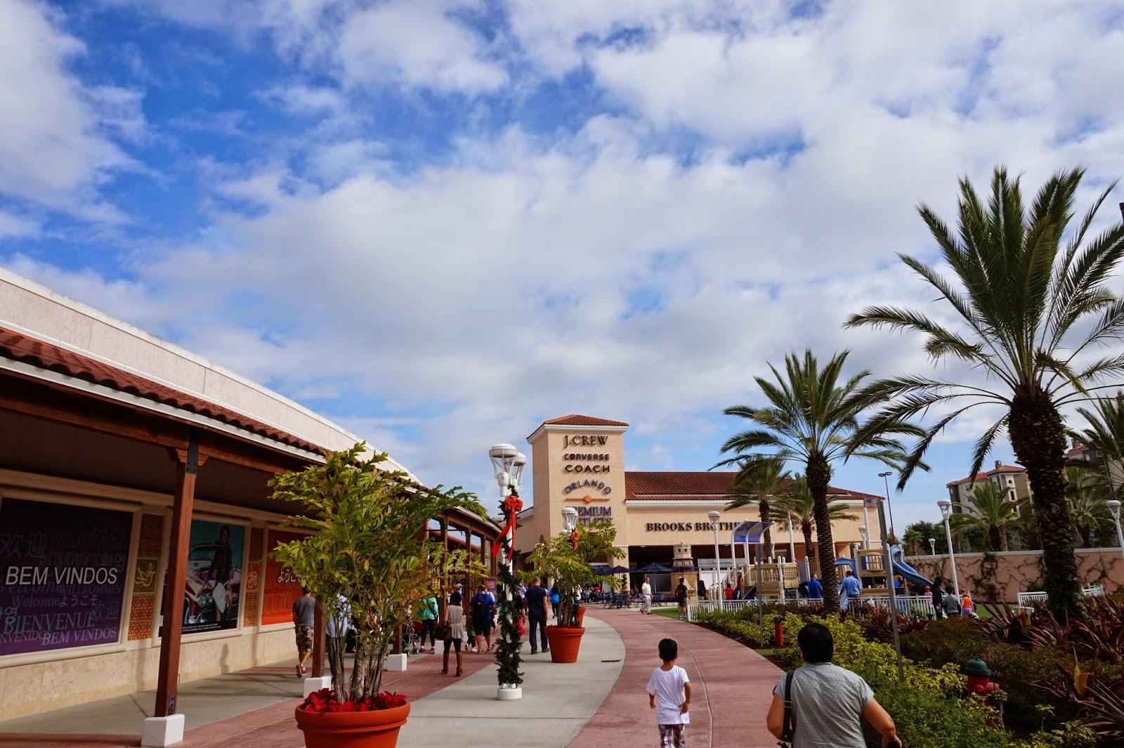 Kerst In Orlando 2014 Premium Outlets Florida Mall En Olive Garden