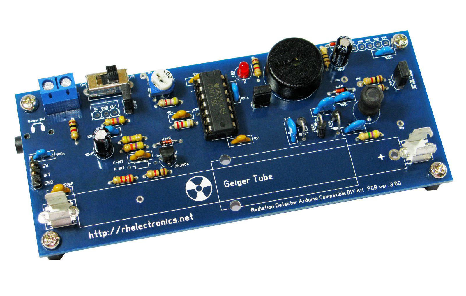 Radiation Detector DIY Kit ver.3
