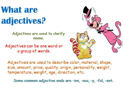 Call Call Call What Are Adjectives