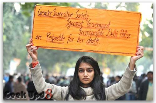 Jyoti Singh Pandey Rape Protest, Delhi Gal, Asaram statement against society