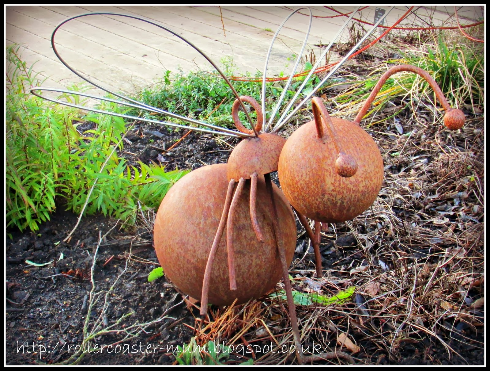 bug sculpture Clore Learning Garden RHS Wisley