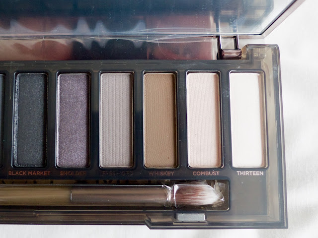 Urban Decay Naked Smoky eyeshadow Palette Review swatches