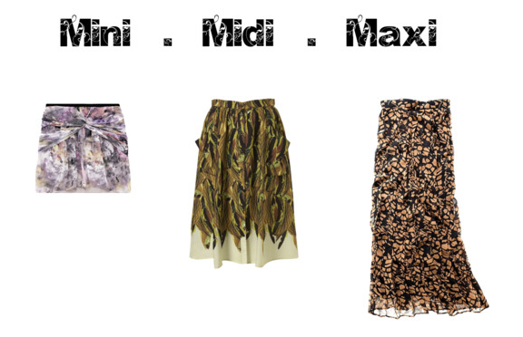 Mistress of Modernism: Mini - Midi - Maxi