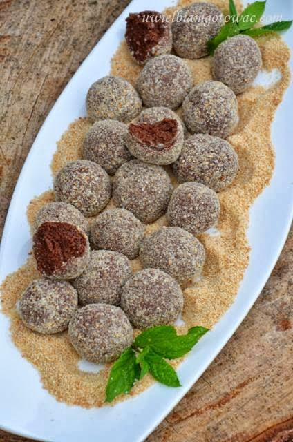 Kasztanki (Pralinki kakaowe)