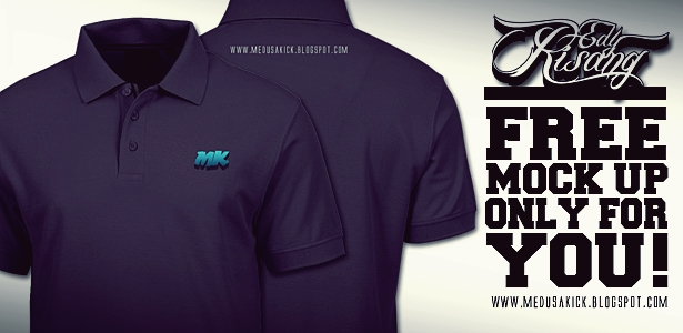 Mock up polo shirt medusakick for Free polo shirt mockup