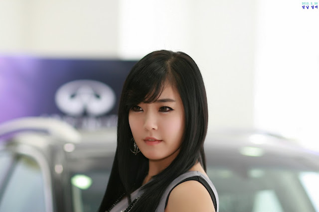 1 Yook Ji Hye for Infiniti FX30d-very cute asian girl-girlcute4u.blogspot.com