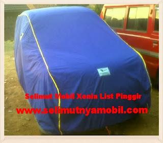 Selimut Mobil Xenia Custom List Pinggir