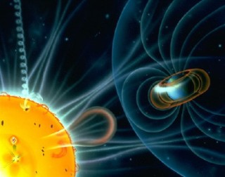 NASA planea misión para estudiar portales magnéticos ocultos que conectan a la Tierra con el Sol Campomagnetico.jpg