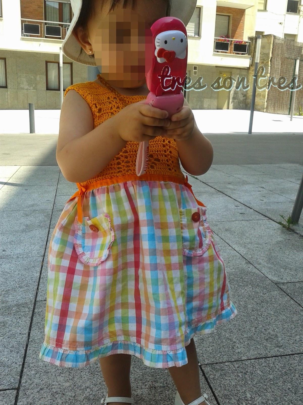 crochet,ganchillo, cuerpo de ganchillo para vestido, niños