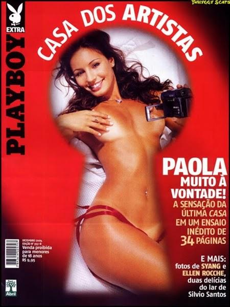 Paola Rodrigues nua