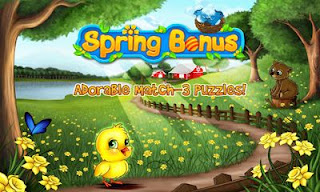 Screenshots of the Spring Bonus for Android tablet, phone.