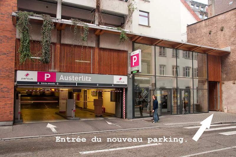 100 places de stationnement v lo suppl mentaires au parking austerlitz strasbourg. Black Bedroom Furniture Sets. Home Design Ideas