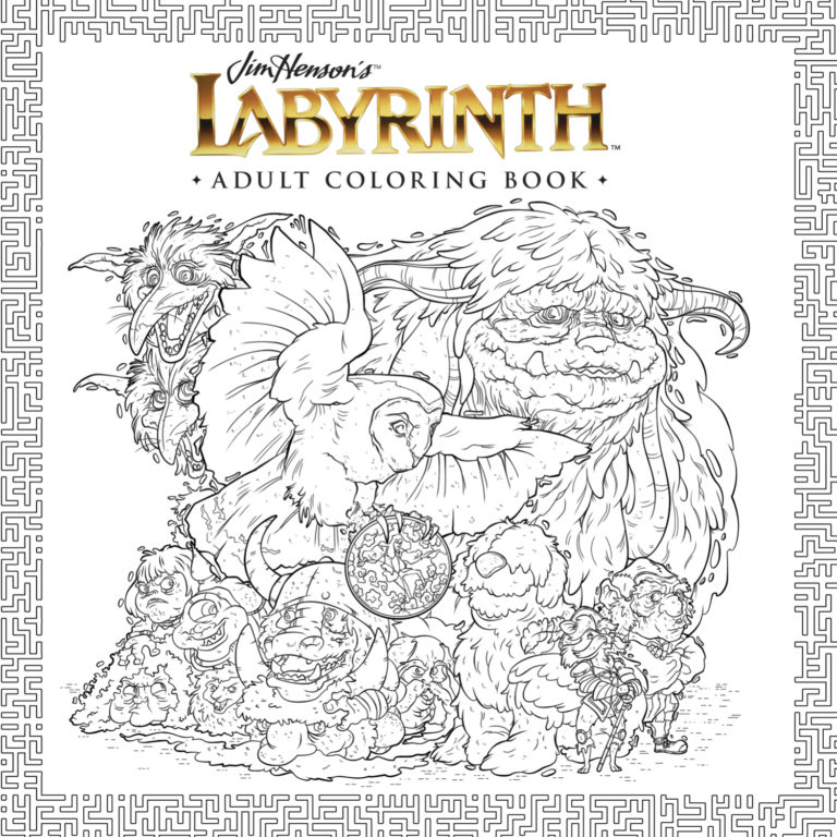 Labyrinth Coloring Book Now Available! | Muppet Stuff