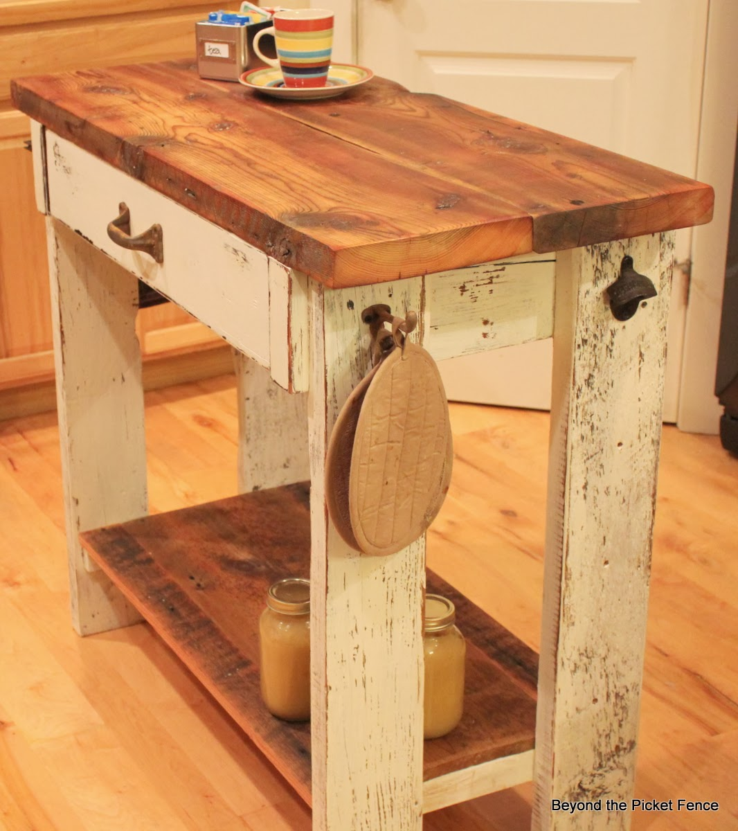 Beyond the picket fence island shmisland for Island woodworking