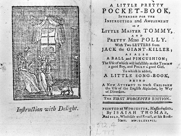The First Ever Childrens Book (1744)