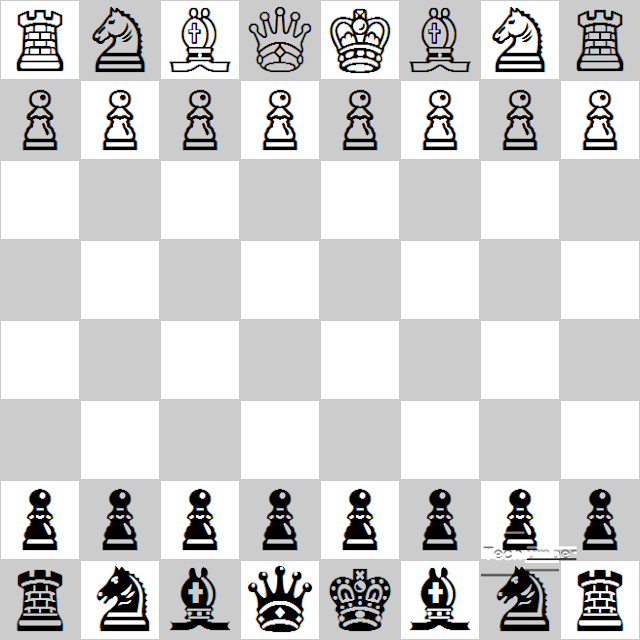 Chess Game UI Using  JQuery, UniCodes & Pure CSS3(No Image used)