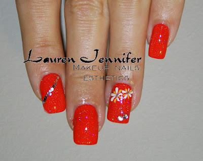Lauren Jennifer In Style: Orange Nail Polish- Big trend or only for