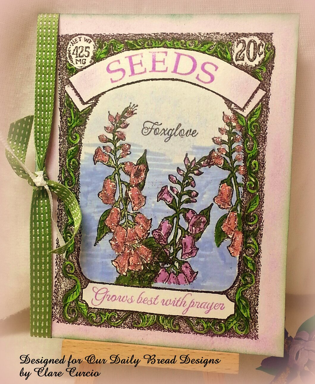 Stamps -  Our Daily Bread Designs Bloom , Seed Packet
