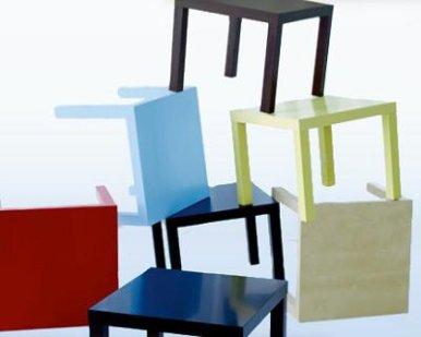 Bricolaje para transformar una mesa lack de Ikea
