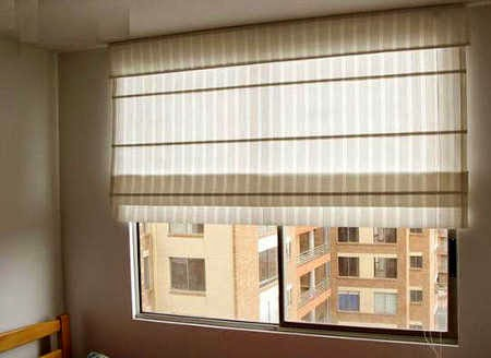 Decora hogar cortinas para salas v deo tendencias en - Estor con cortina ...
