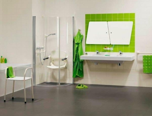 Baños Decoracion Verde:Decoración de interiores: DECORA EL BAÑO EN VERDE