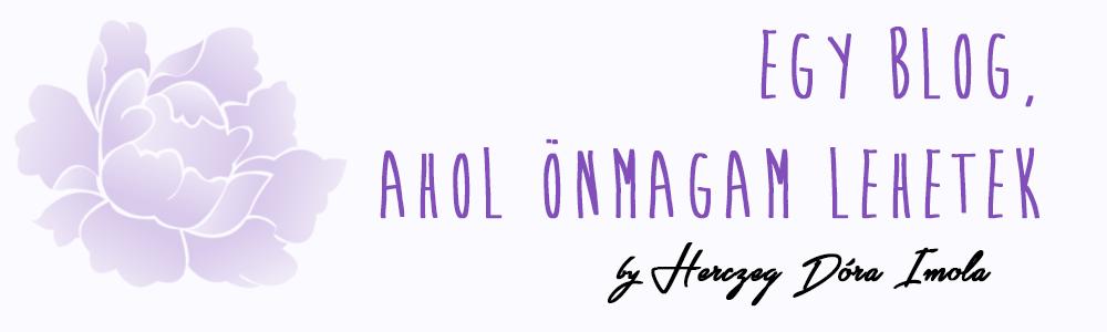 Egy blog, ahol önmagam lehetek