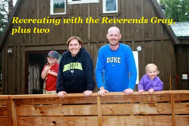 Recreating with the Reverends Gray, plus two