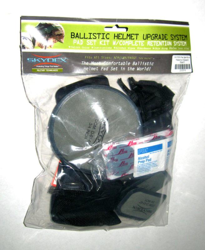 SKYDEX Kevlar HELMEGT CASCO CAPACET HELM Pads MICH/ACH/PASGT Upgrade kit SZ 6