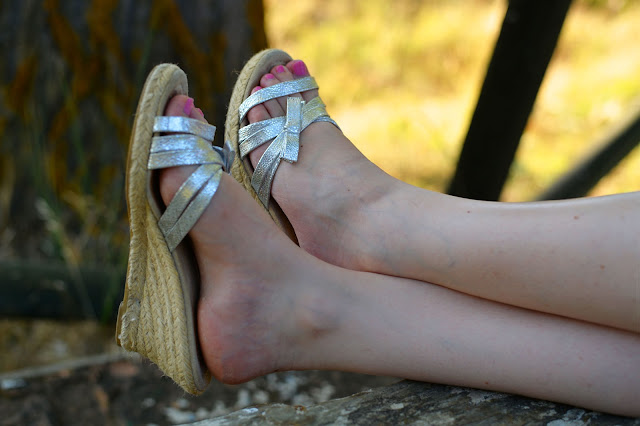 summer sunday picnic fashion espadrilles