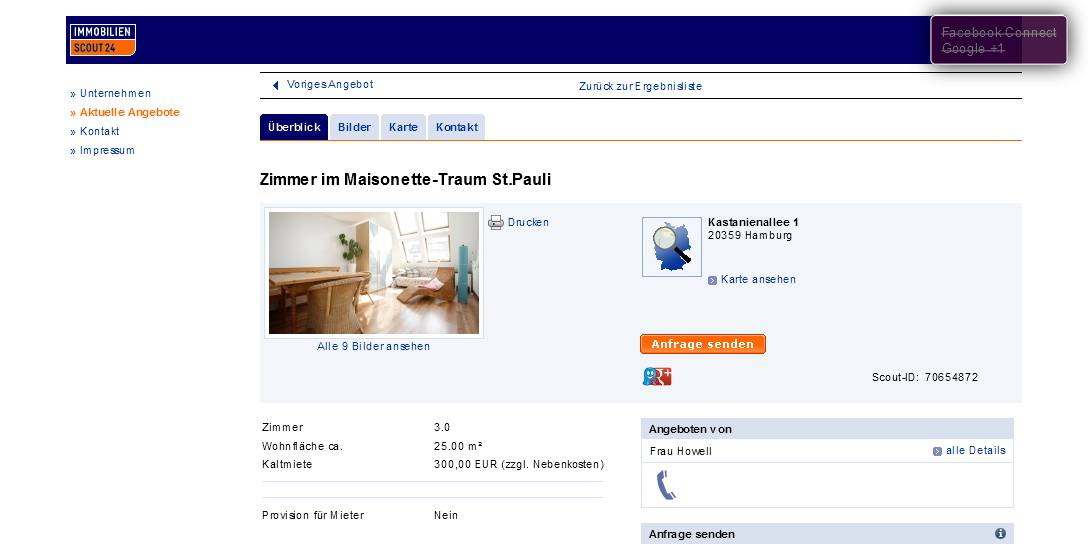 Immobilienscout Wohnung