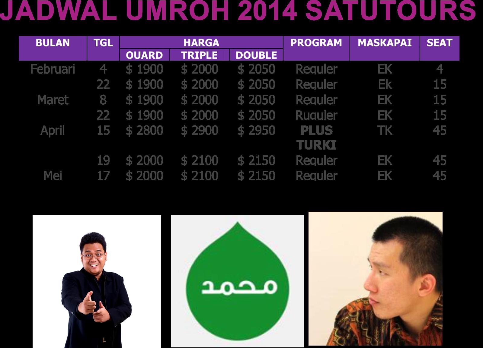 biro perjalanan umroh ramadhan 2014