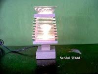 Electric Oil Burner Aromatherapy code Sandal Wood