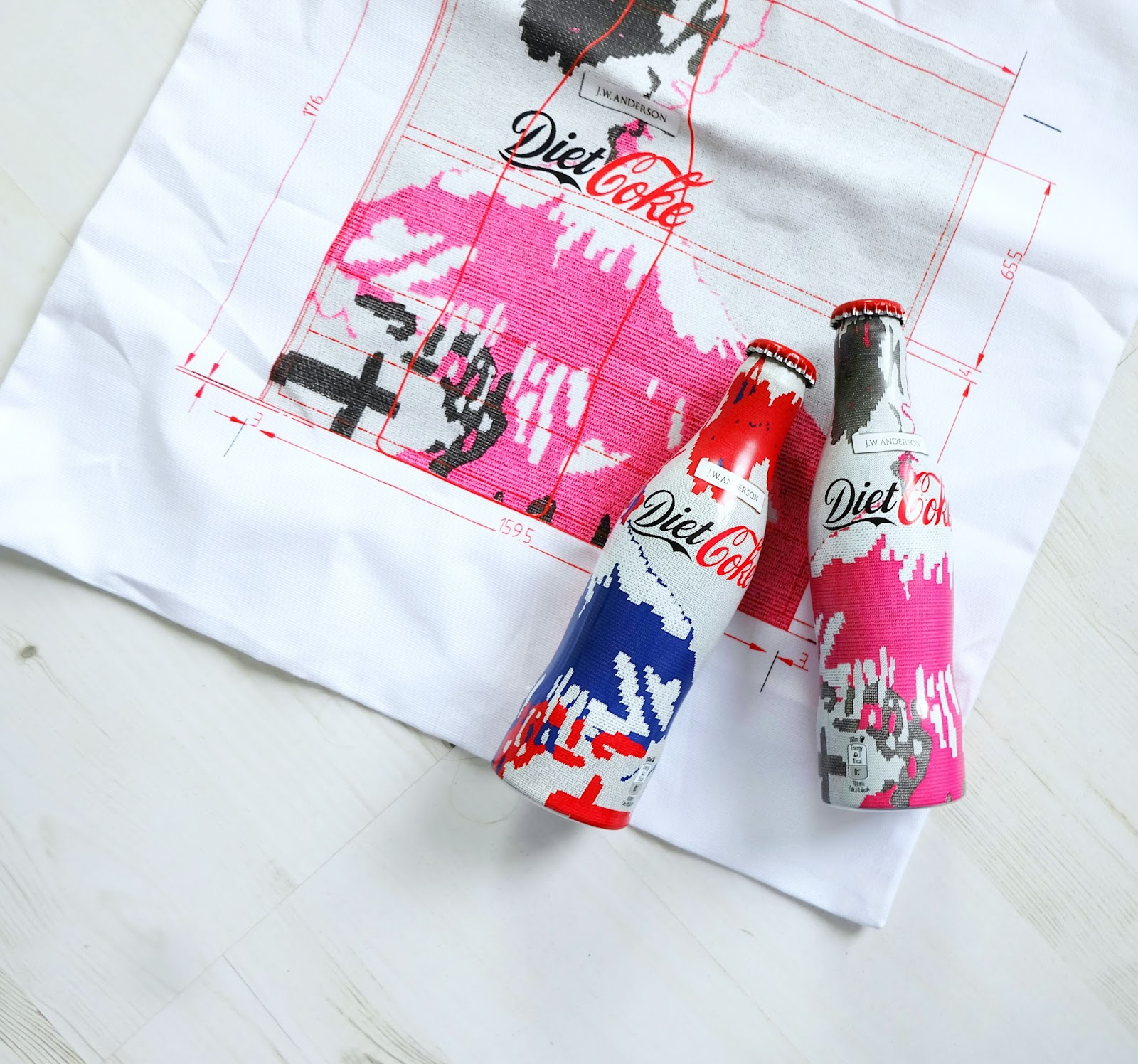 diet coke j.w. anderson collection