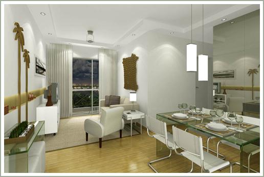 Sala De Estar Com Sala De Jantar Simples ~  cor tamanho da mesa de jantar para dividir o ambiente jantar estar