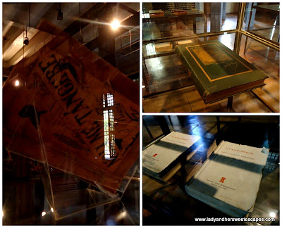 books written by Rizal at fort Santiago