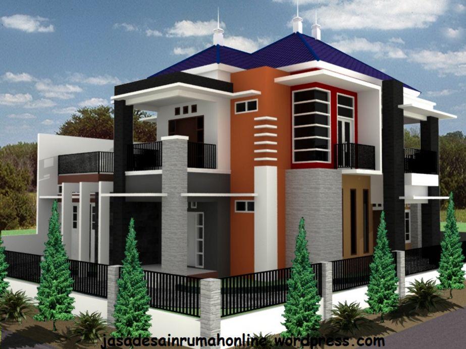 gambar rumah mewah modern dari depan