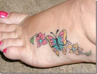 fotos e imagens de tatuagens com borboletas