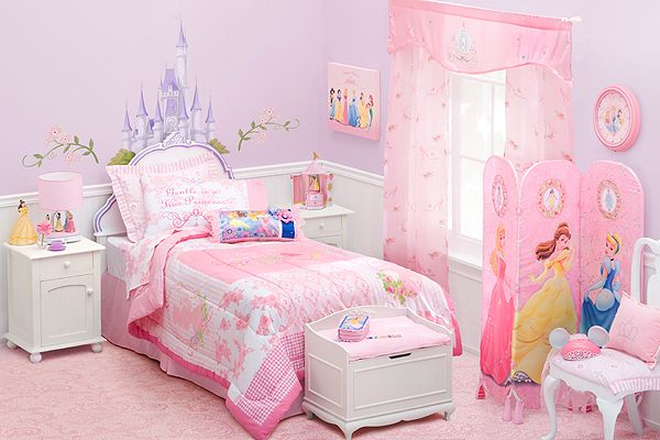 Dormitorios princesas disney dormitorios con estilo - Dormitorios de princesas ...