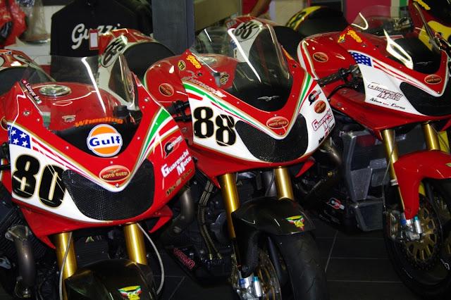 Moto Guzzi MGS-01 Corsa Motorcycle Battle of the Twins Guareschi Supertwins
