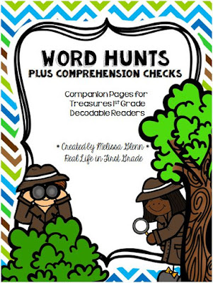 Word Hunts and Comprehension Checks for Treasures