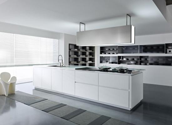 Top 10 minimalist kitchen set design for Best kitchen designs 2012