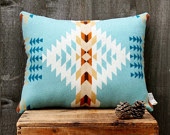 Geometric Wool Pillow
