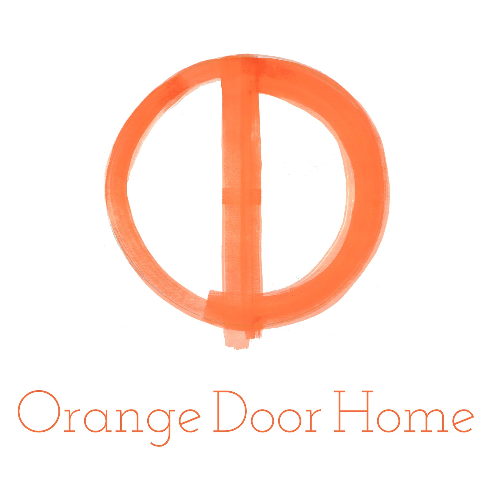 SHOP Orange Door Home!