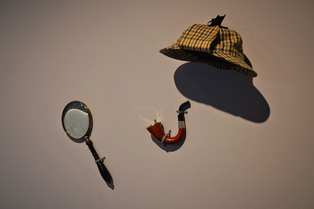 The invisible Sherlock Holmes