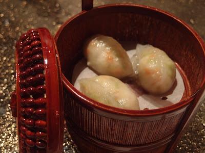 凉瓜龙虾饺