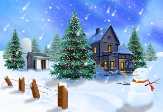 Snow White Christmas HD Wallpapers for Desktop