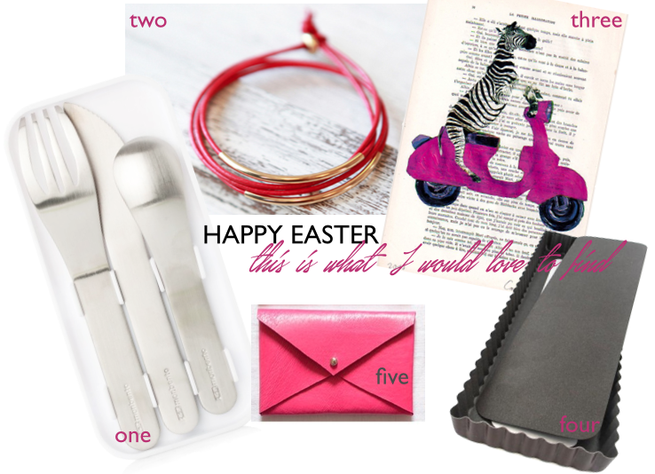collage of my easter wishes in a gift guide
