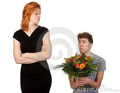 4 Lines To Tell Your Angry Girlfriend - flowers to girlfriend